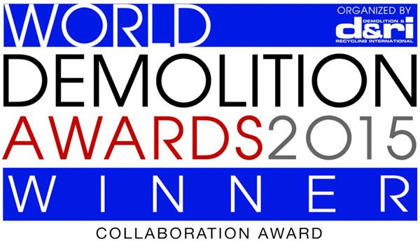 demolition awards winner 2015 for collaboration in demolition